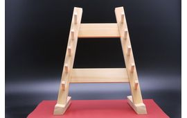 Kitchen Knife Stand  for 5 knives Japanese Cypress