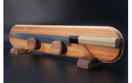 Wooden Kitchen Knife Disply Stand
