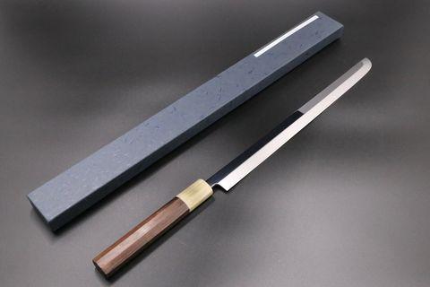 Takohiki Sakimaru Shirogami-1 (WS#1) 330mm Mizu Honyaki By Ikeda Yoshikazu